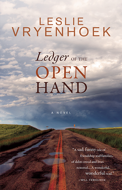 Kerri Cull on Leslie Vryenhoek's Ledger of the Open Hand